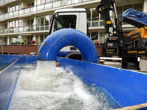 Schoon bronwater