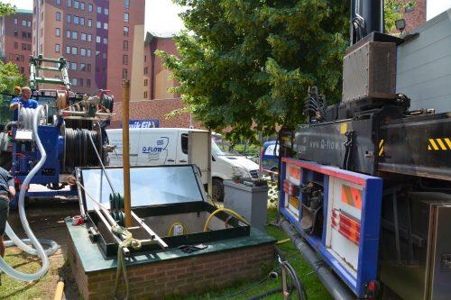Regeneratie van een drinkwaterbron in Deventer