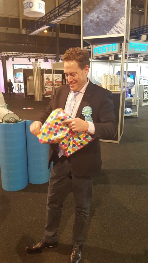 Martin jarig op de Aqua Nederland Vakbeurs 2018