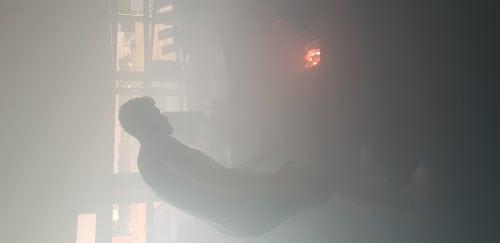 Betreden rookruimte