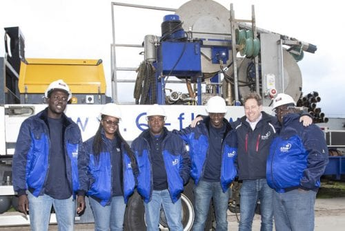 Guyan Water Inc training in the Netherlands