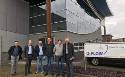 Q-Flow Martin Bloemscheer en Thijs Kalkhaarvisited by D66