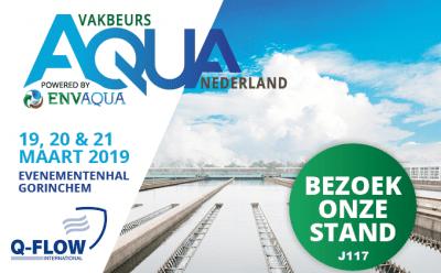 Q-Flow Aqua Nederland Vakbeurs 2019