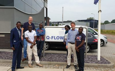 NWSC Eoganda bij Q-Flow International