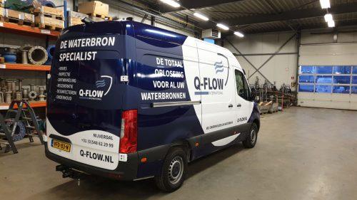 Mobiele werkplaats bron onderhoud  Q-Flow 2020